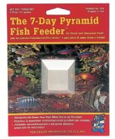 2 x API Pyramid 7 Day Fish Feeder Holiday / Vacation Food Tropical and Coldwater